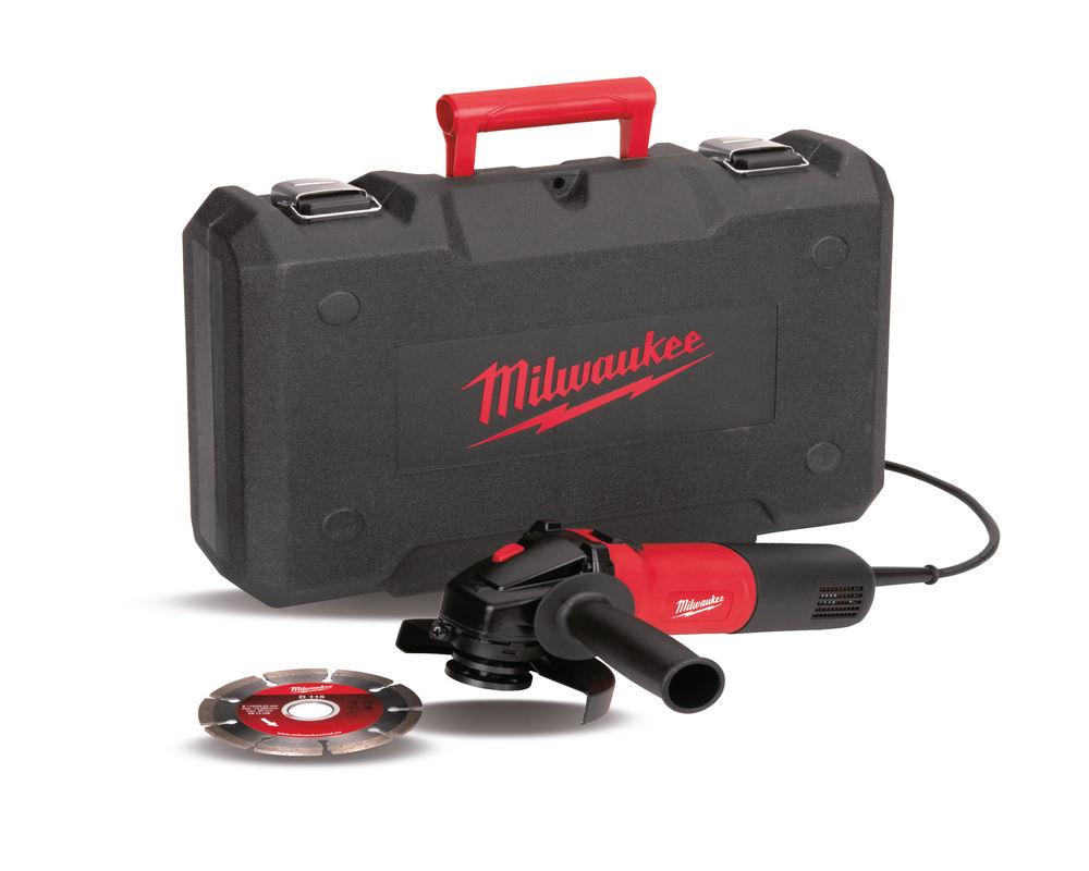 Milwaukee AG750-115 D-SET 115mm Angle Grinder