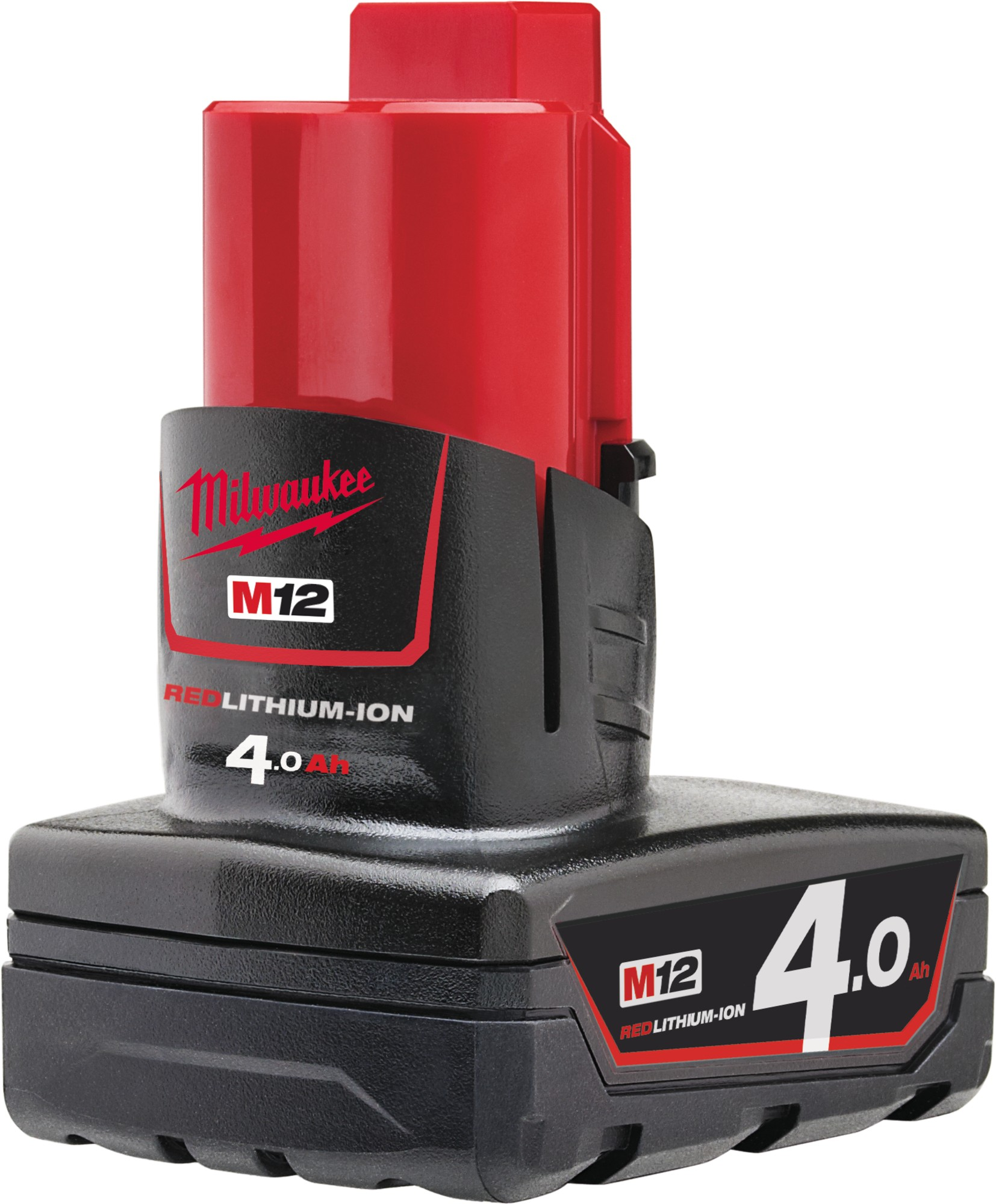 Milwaukee M12B4 12V 4.0Ah Red Lithium Battery