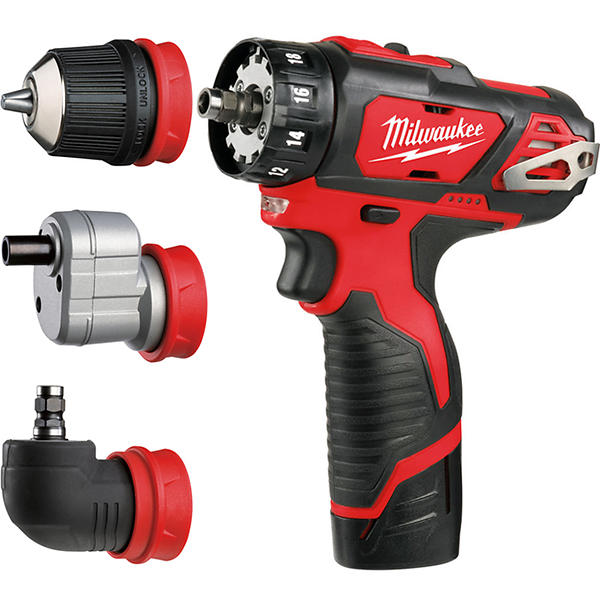 Milwaukee M12BDDXKIT-202C 4-In-1 Drill Driver
