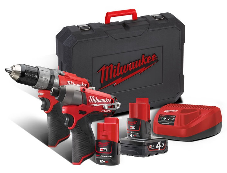 Milwaukee M12CPP2C-422C M12 Fuel Twin Pack
