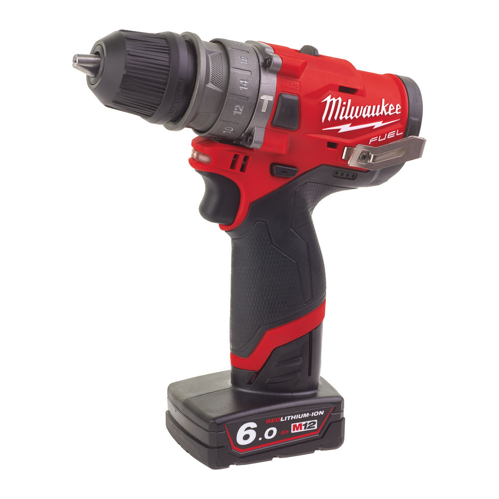 Milwaukee M12FPDX-602X M12 Fuel Combi Drill