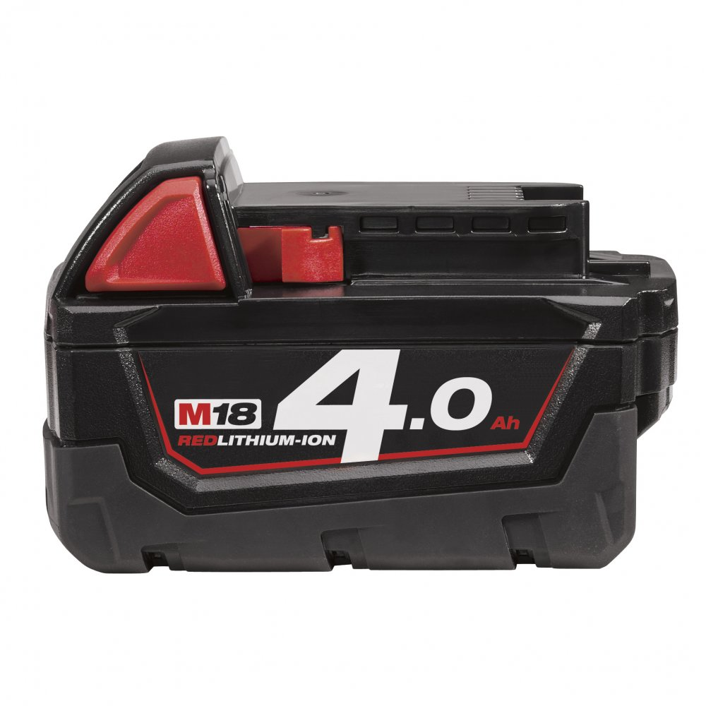 Milwaukee M18B4 M18 4.0Ah Red Lithium Battery