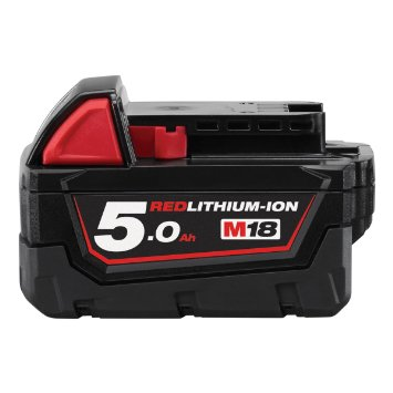 Milwaukee M18B5 M18 5.0Ah Red Lithium Battery
