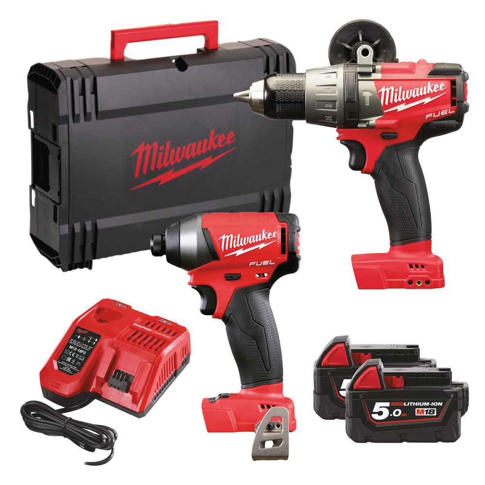 Milwaukee M18FPP2A-502X M18 Fuel Twin Pack