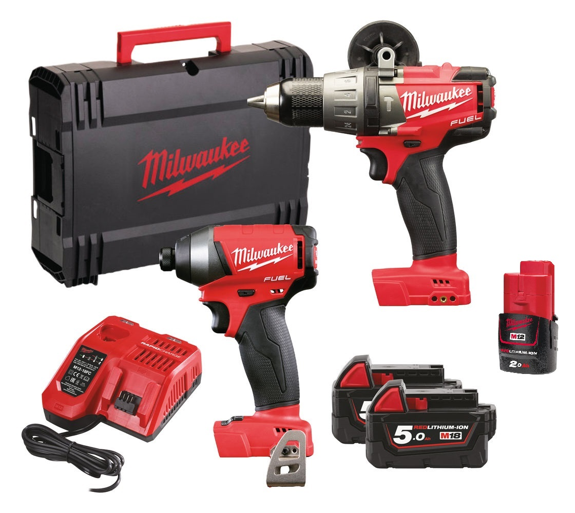 Milwaukee M18FPP2A-523X M18 Fuel Twin Pack