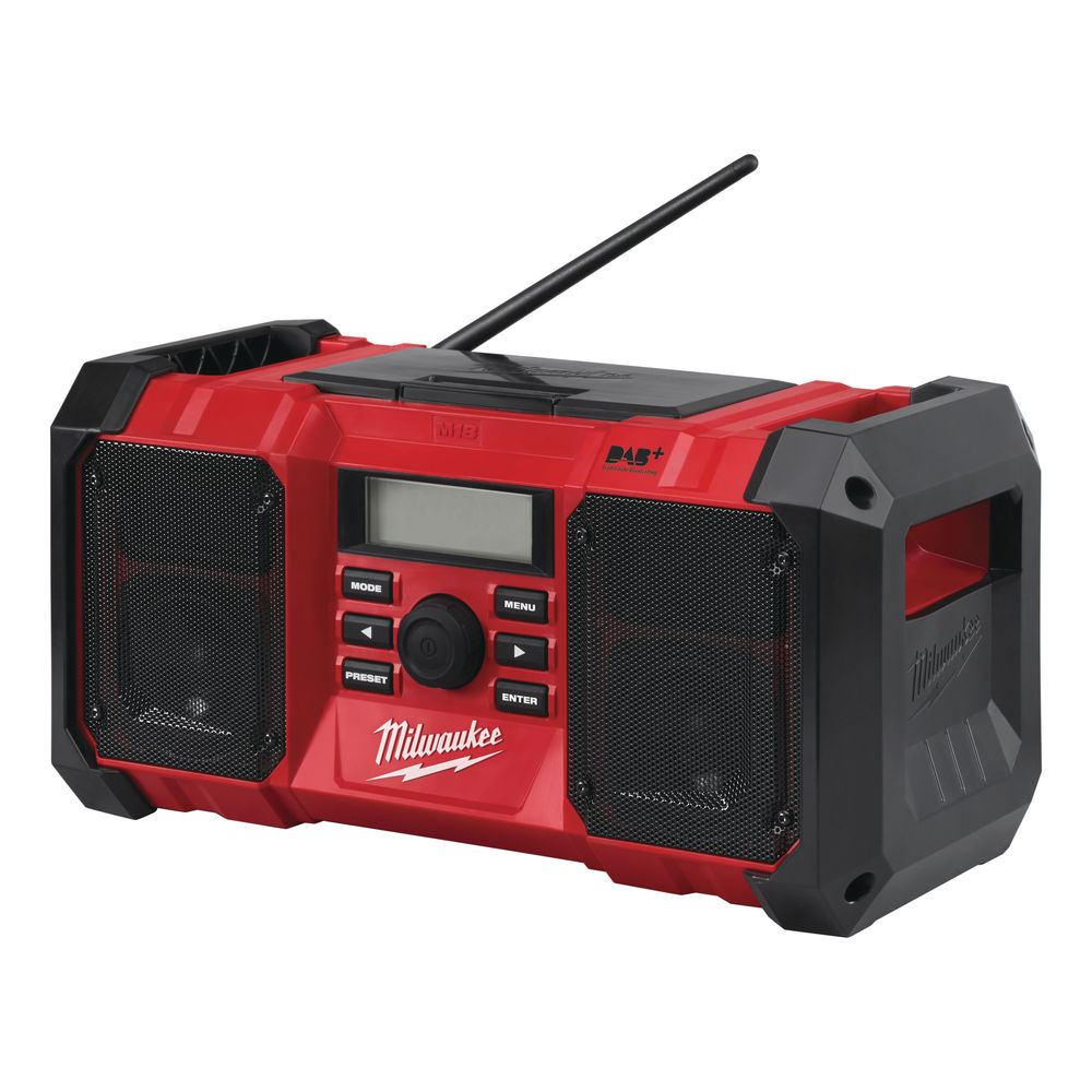 Milwaukee M18JSRDAB+-0 M18 Jobsite DAB Radio