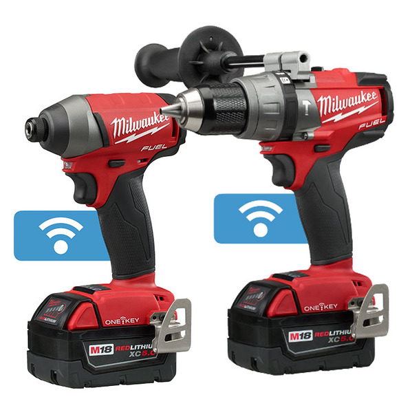 Milwaukee M18ONEPP2A-502X One Key Twin Pack