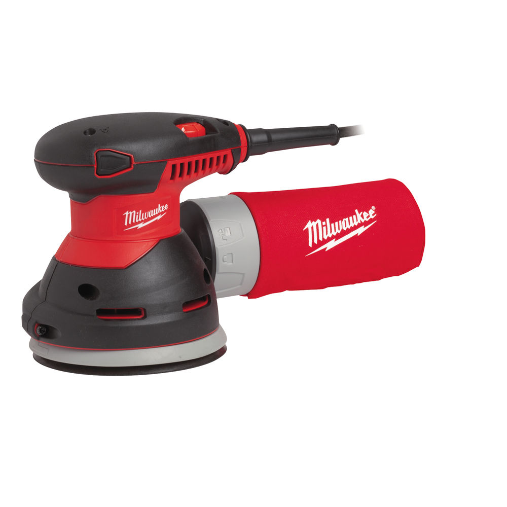 milwaukee ros150e 2 150mm orbital sander 240v. Black Bedroom Furniture Sets. Home Design Ideas