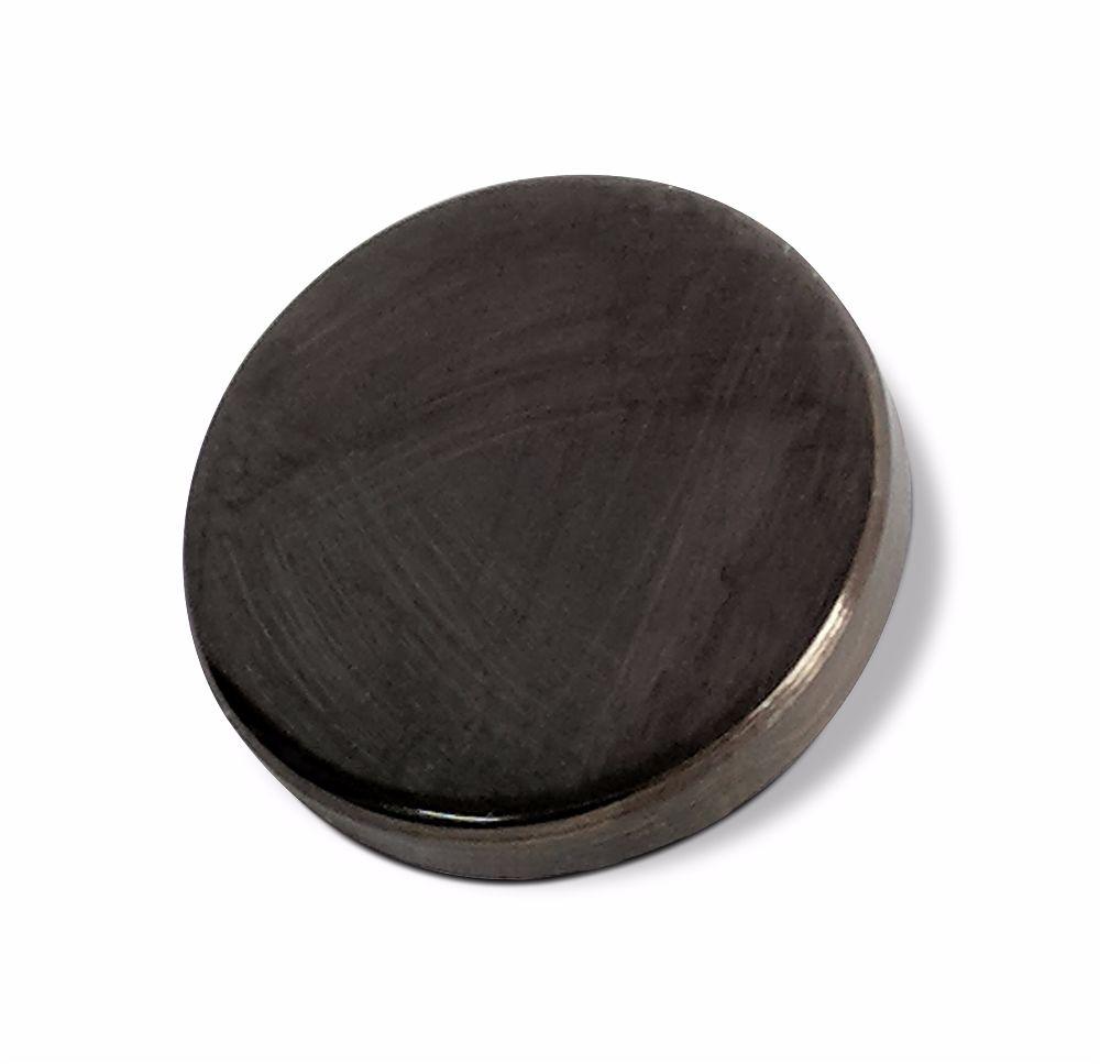 10mm Flat Mirror Caps 6BA Bronze + Lac.
