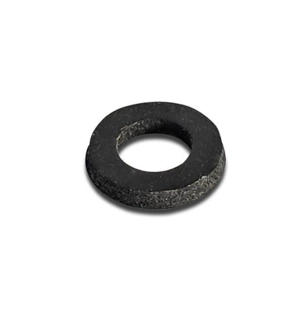 Black Rubber Washer 10mm Dia x 5mm Hole
