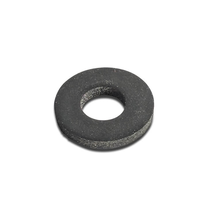 Black Rubber Washer 12mm Dia x 5mm Hole