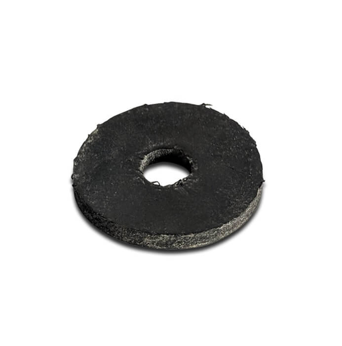 Black Rubber Washer 20mm Dia x 6mm Hole