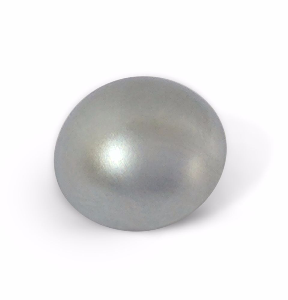 12mm Satin Chrome 5BA Caps - Dome