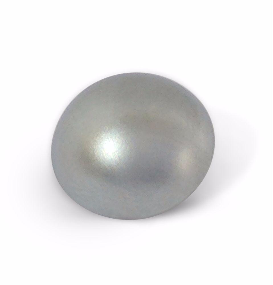 16mm Satin Chrome 6BA Caps - Dome