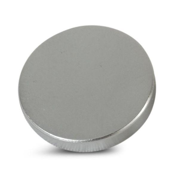 10mm Satin Chrome 6BA Caps - Flat