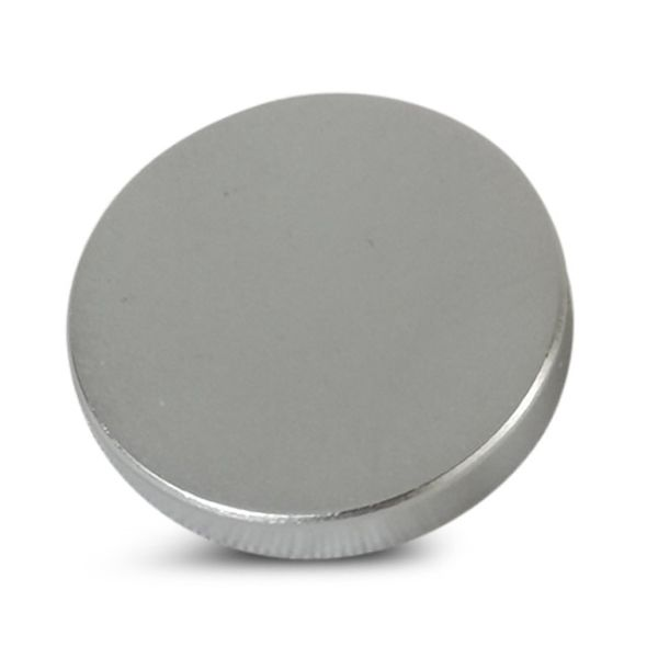 20mm Satin Chrome 5BA Caps - Flat