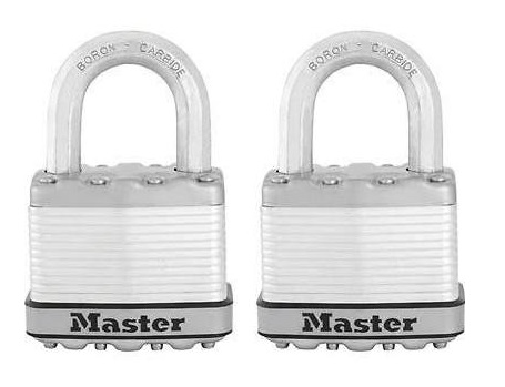 Masterlock M5 Excell Padlock Twin Pack