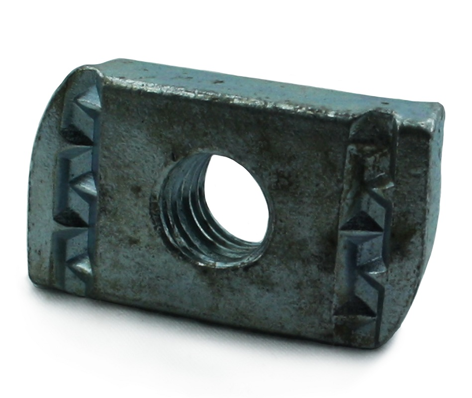 M6 Channel Nut BZP - No Spring