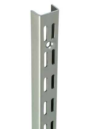 Newtech 40'' Twinslot Shelf Upright Chrome
