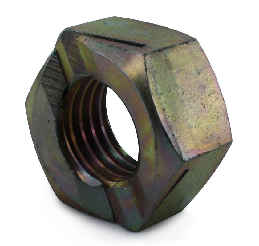 M6 Binx All Metal Locking Nut BZP