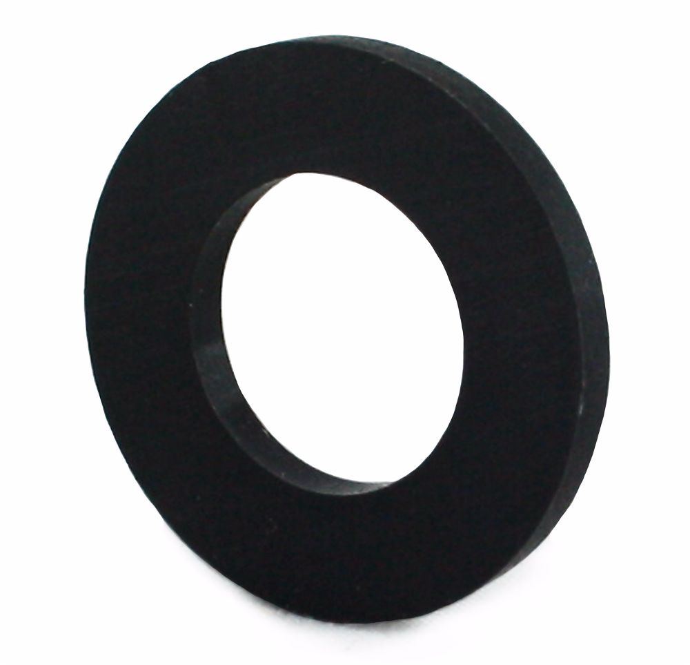 M12 NYLON FLAT WASHER BLACK