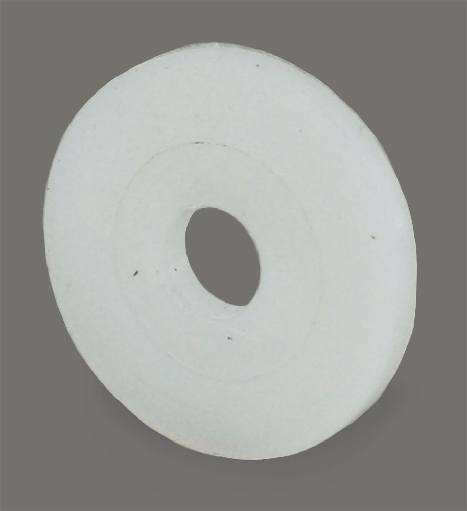 M8 x 25 x 1.5 Nylon 6.6 Penny Washer Natural