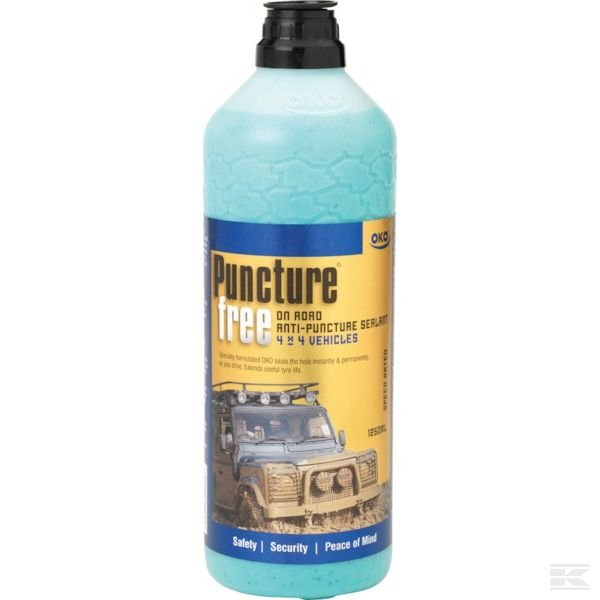 OKO PUNCTURE FREE ON ROAD TYRE SEALANT 1250ML