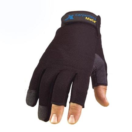 Carpenters Mate Fingerless Glove Large