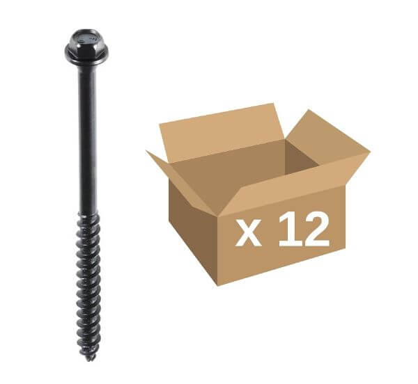 Fastenmaster TimberLok® Screws 100mm 12pk