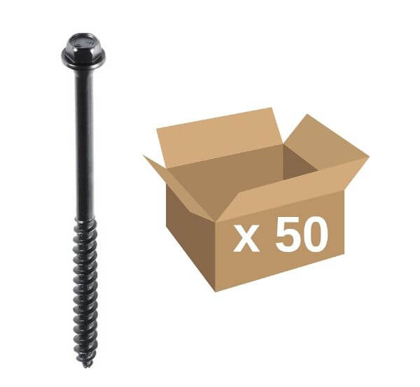 Fastenmaster TimberLok® Screws 65mm 50pk