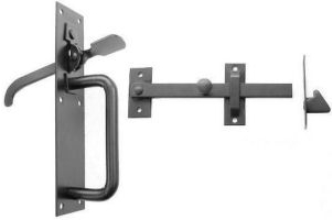 Perrys No.20/2S Light Suffolk Latches - Std.