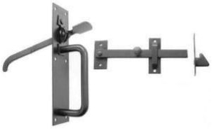 Perrys No.20/4L Medium Suffolk Latches - Long