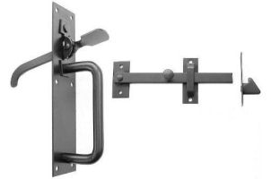 Perrys No.20/4S Medium Suffolk Latches - Std.