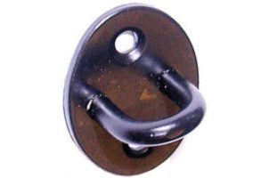 Perrys No.37/S Cast Cabin Hook Staple Only Bl