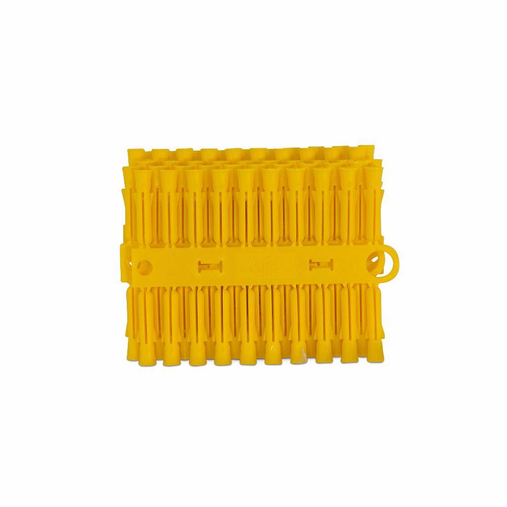 Talon Yellow Plastic Plugs Pack of 100