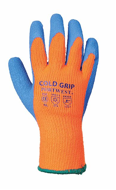 A145 Thermal Grip Glove SZ 10 (X-Large)