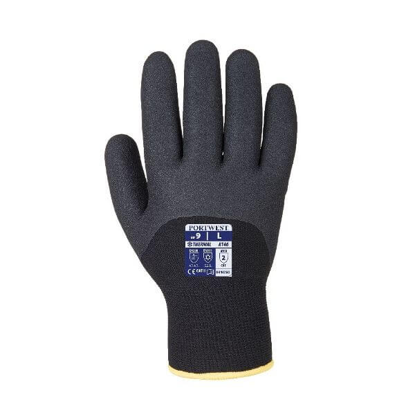 A146 Arctic Winter Gloves Black SZ 10 (XL)