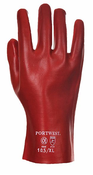 A427 PVC Gauntler 27Cm Red XL