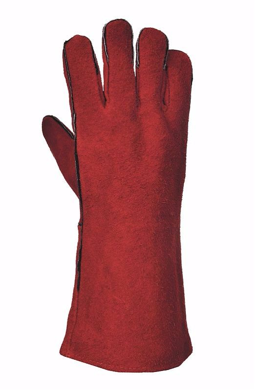 A500 Welders Gauntlet Red Size XL