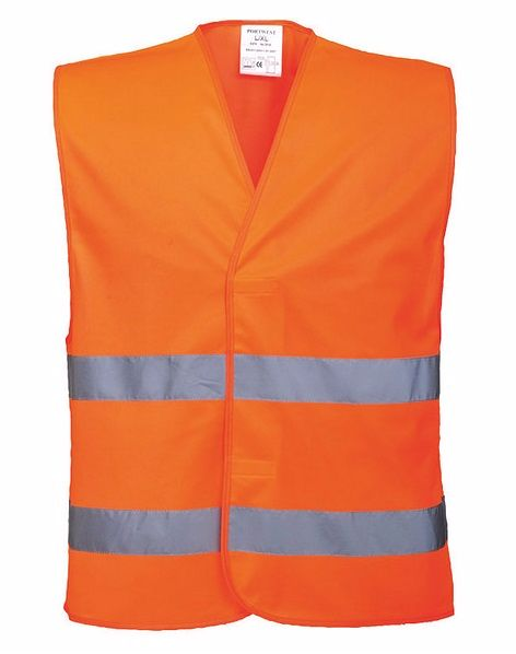 C474 Hi-Vis Vest L/XL Orange