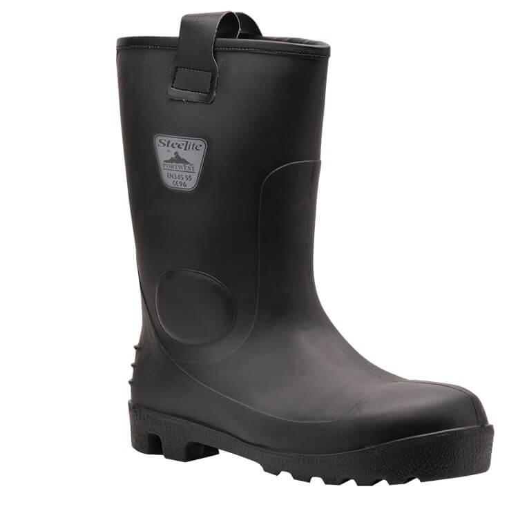 FW75 Steelite Rigger Boot Black SZ 42/8