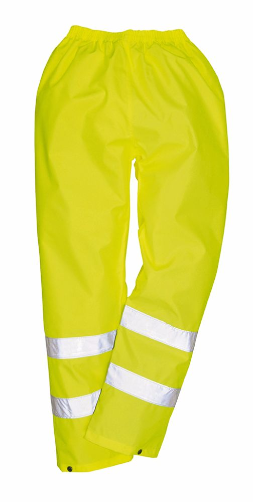 H441 Hi-Vis Rain Trousers Yellow 2XL