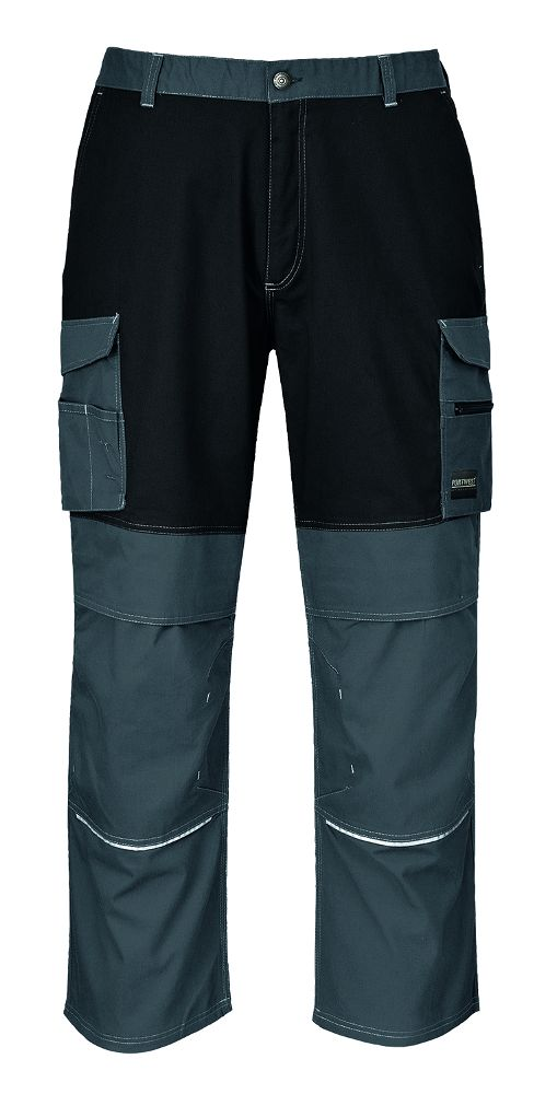 KS13 Granite Trouser Grey/Black Large Reg Leg