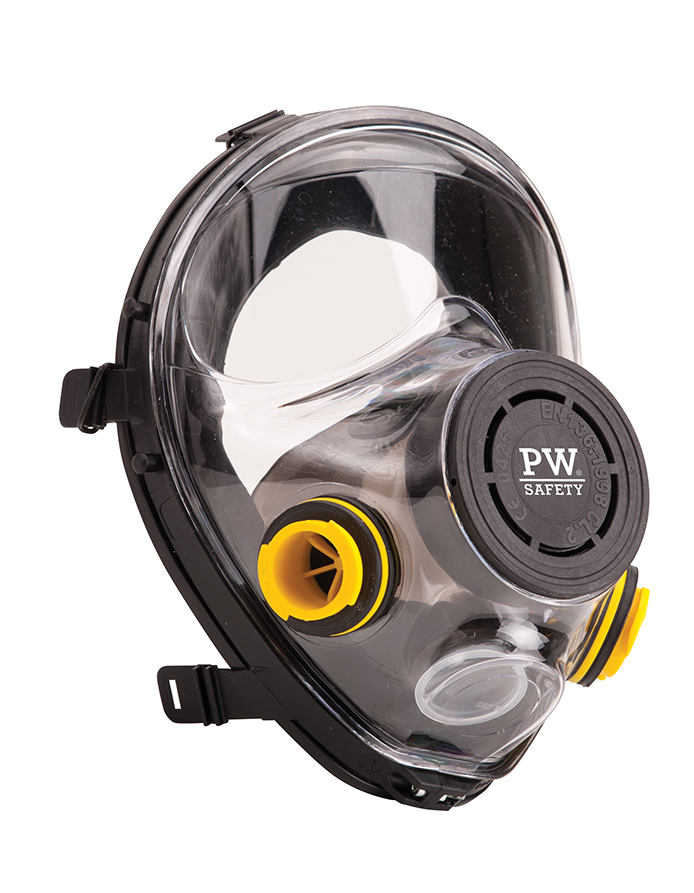 P500 Vienna Full Face Mask Black