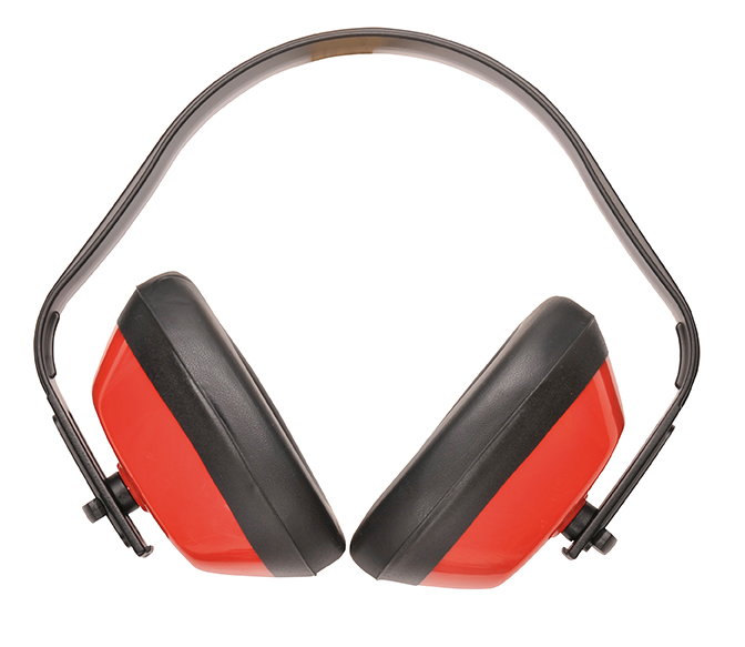 PW40 Classic Ear Protector Red