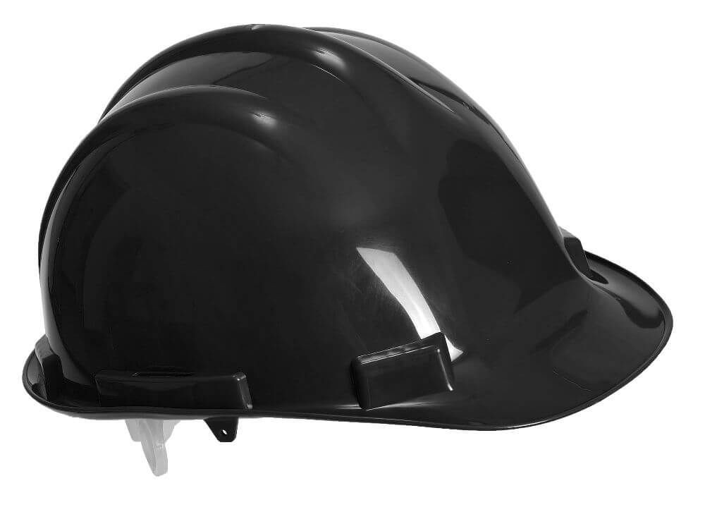 PW50 Black Endurance Safety Helmet