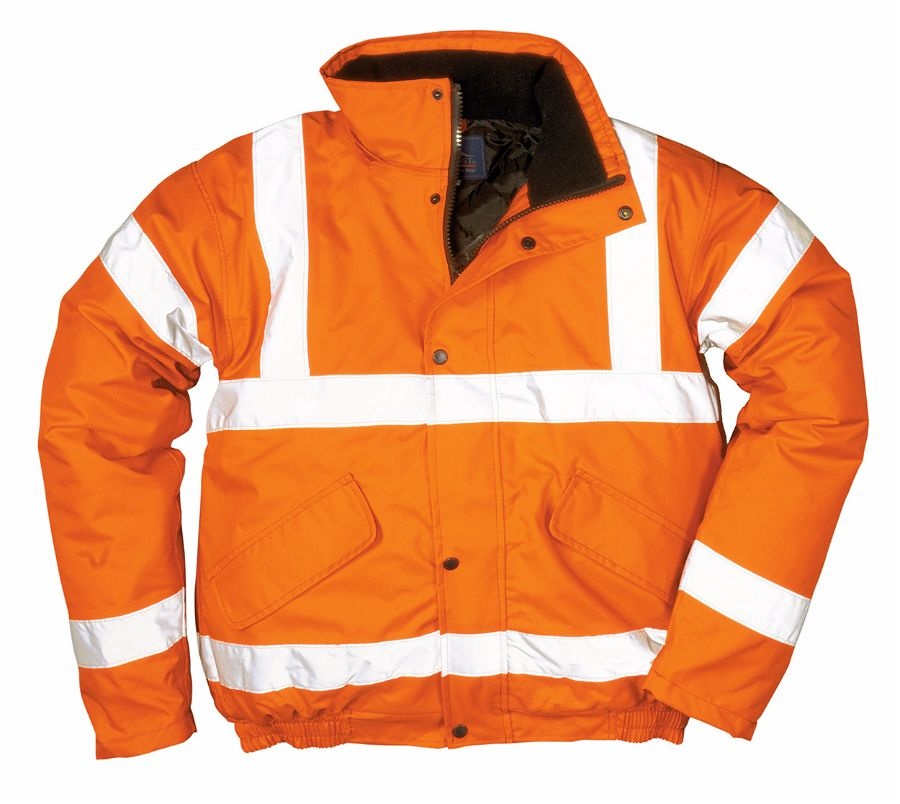 RT32 Hi-Vis Orange Bomber Jacket 2X-Large