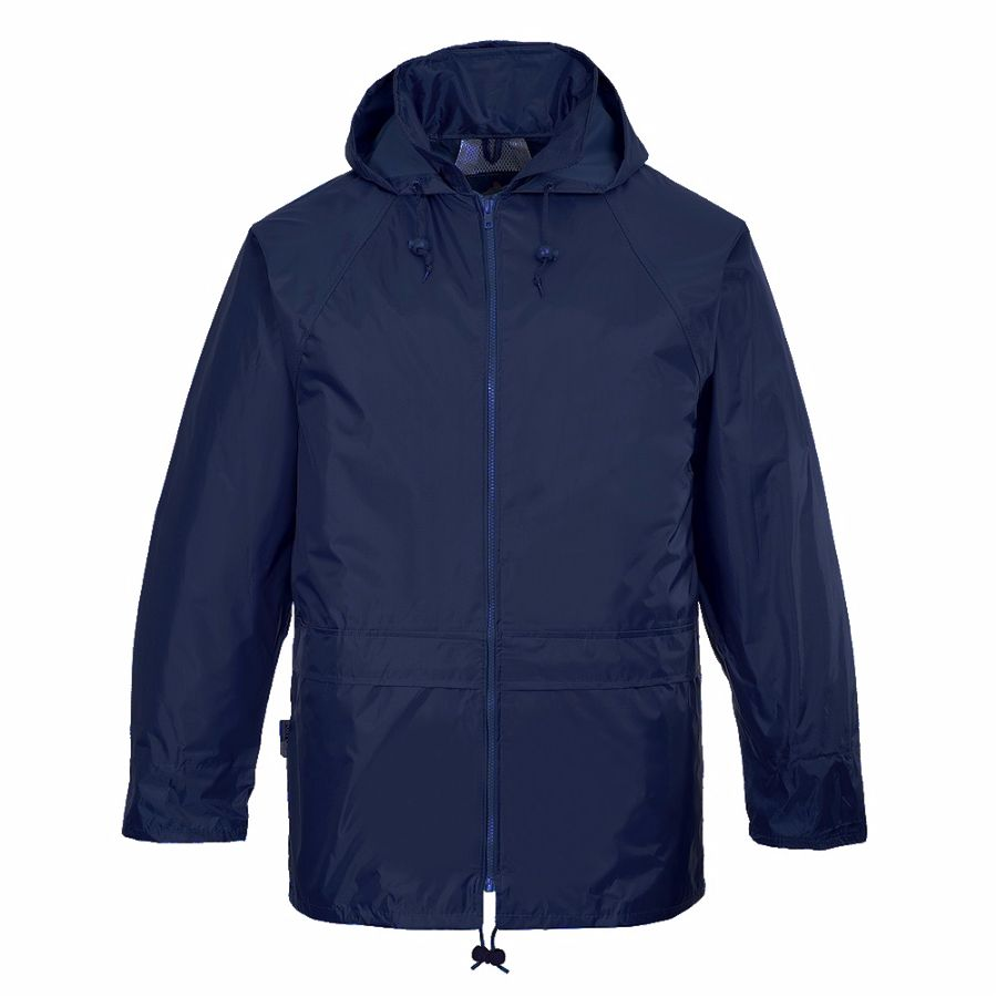 S440 Rain Jacket Navy 2X-Large