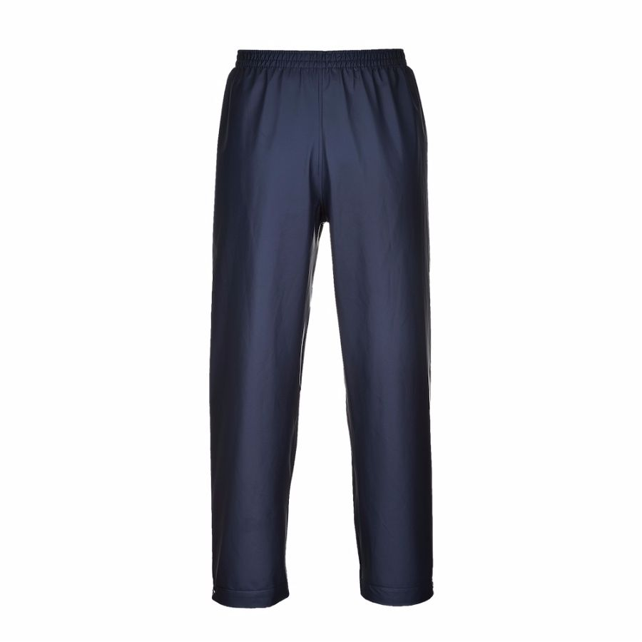 S441 Waterproof Trousers Navy 2X-Large