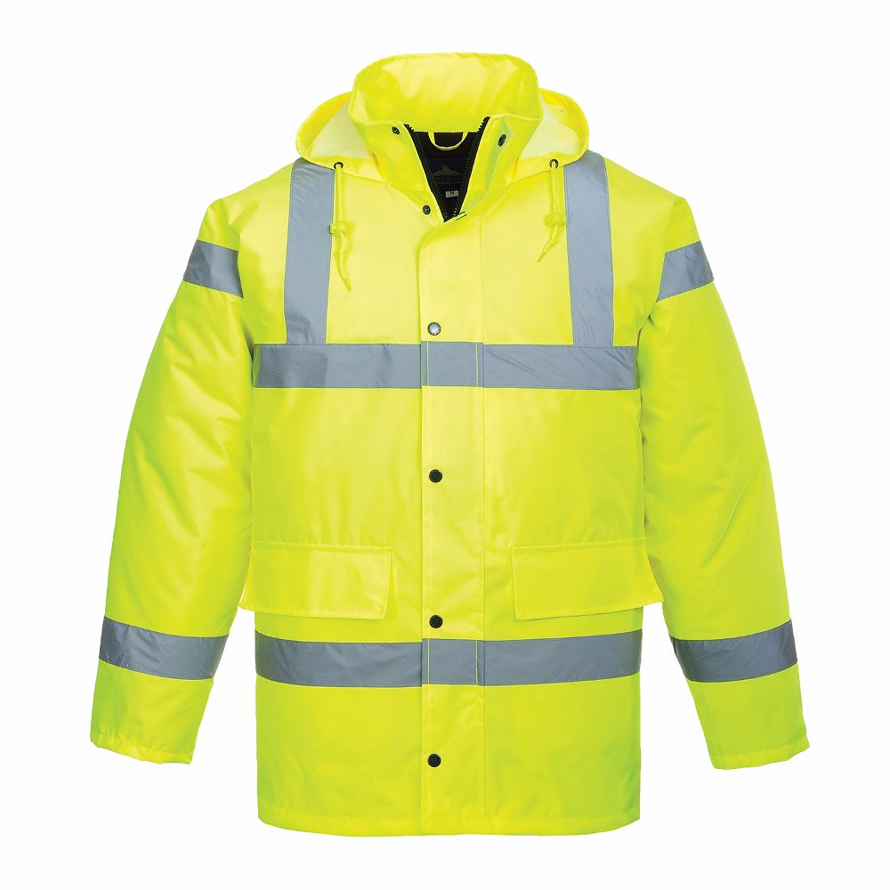 S460 Hi-Viz Traffic Jacket Yellow 2X-Large
